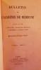 Bulletin de l'Académie de Médecine. Quarante-sixième année - 2ème série - Tome XI - 1882. (Année complète).. [PASTEUR (Louis)] - BECLARD (J., ...