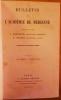 Bulletin de l'Académie de Médecine. Cinquante-et-unième année - 2ème série - Tomes XVII & XVIII - 1887. (Année complète).. [PASTEUR (Louis)] - ...