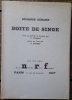 Boite de Singe.. [LURCAT (Jean)] - GIRARD (Georges).