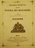 Menuiserie descriptive, nouveau Vignole des Menuisiers - Planches.. COULON (A.-G.).