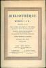 Catalogue de la Bibliothèque de Monsieur J. S. M... Première partie : Beaux livres illustrés du XVIII siècle, romantiques en éditions originales ou ...