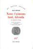 Nous l'aimons tant, glenda et autres récits. Traduit de l'espagnol (Argentine) par Laure Guille-Bataillon et Françoise Campo.. CORTAZAR (Julio).