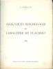 Analyse et Psychologie du Caractère de Flaubert d'après une correspondance intime parue dans le Manuscrit Autographe.. [FLAUBERT (Gustave)] - NUELLAS ...