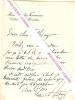 Lettre autographe signée de Maurice Henry  Berteaux.. Maurice Henry BERTEAUX (1852-1911) - Homme politique français, Maire de Chatou, député, Ministre ...