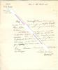 Lettre signée de Courvoisier, Ministre de la Justice.. Jean Joseph Antoine de COURVOISIER (1775-1835) - Magistrat et homme politique français, ...
