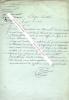 Lettre autographe signée avec annotation manuscrite de RAMEL-NOGARET, Ministre des Finances.. Dominique-Vincent RAMEL-NOGARET (1760-1829) -  Homme ...