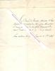 Lettre autographe du Baron de VITROLLES, Ministre d'Etat.. VITROLLES Eugène d'Arnaud Baron de, (1774-1841) - Ministre d'Etat, Secrétaire des Conseils ...