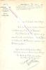 Lettre signée de Henri WALLON, Ministre de l'Instruction Publique, des Cultes et des Beaux-arts.. Henri Alexandre WALLON (1812-1904)  - Historien et ...