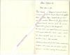 Lettre autographe signée d'Albert Delpit,  Romancier et auteur dramatique, travaille pour des revues créées par Alexandre Dumas, Il affronta en duel ...