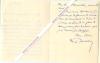 Lettre autographe signée de Lucien Descaves, Romancier, journaliste, auteur dramatique.. Lucien DESCAVES (1869-1949) - Romancier, journaliste, auteur ...