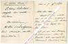 Lettre autographe signée de Camille Doucet, Poète et auteur dramatique français, Secrétaire perpétuel de l'Académie Française.. Camille DOUCET ...