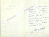 Lettre autographe signée de Fernand Gregh, Poète et critique littéraire, membre de l'Académie Française.. Fernand GREGH (1873-1960) - Poète et ...