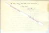Lettre autographe signée d'Emile Henriot, Poète, romancier, essayiste et critique littéraire français.. Emile HENRIOT (Emile MAIGROT, dit) (1889-1961) ...