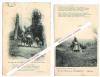 Cartes postales anciennes autographes signées de Jean Nesmy, auteur limousin.. Jean NESMY (Henri SURCHAMP, dit) (1876-1959) - Auteur limousin.