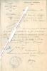 Lettre signée du maire de la commune de Boufflers dans la Somme.. Commune de BOUFFLERS (Somme).