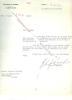 Lettre signée de Gaston PALEWSKI (1901-1984) - Compagnon de la Libération, Ministre d'Etat, Président du Conseil Constitutionnel de 1965 à 1974.. ...