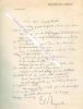 Lettre polycopiée de Paul REYNAUD (1878-1966) - Homme politique français, plusieurs fois Ministre sous la IIIe République , Ministre des Finances du ...