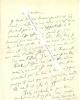 Lettre autographe signée de Jacques AUDIBERTI.. Jacques AUDIBERTI (1899-1965).