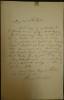 Lettre autographe signée d'Henri ROCHEFORT (1831-1913).. Henri ROCHEFORT, Victor Henri de Rochefort-Luçay (1831-1913).