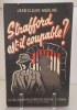 Strafford est-il coupable ? Roman policier.. MARLINE (Jean-Claude).