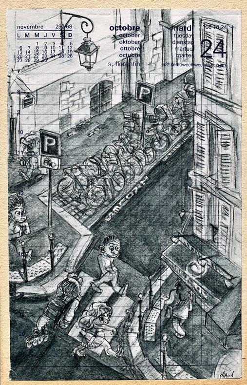 De la fenêtre.. (GRAPHZINE) PLACID (Jean-François DUVAL, dit).