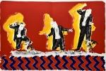 L'Orfeo, suite des lithographies originales en couleurs de Jean-Paul Chambas.. CHAMBAS (Jean-Paul), MONTEVERDI (Claudio), FUMAROLI (Marc).