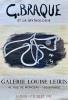 Georges Braque et la mythologie. Galerie Louise Leiris, 47 rue de Monceau - 75008 Paris. 16 Juin - 17 Juillet 1982.. BRAQUE (Georges).