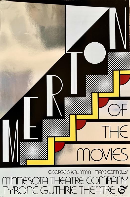Merton of the Movies, Minnesota Theatre Company, Tyrone Guthrie Theatre.. LICHTENSTEIN (Roy).