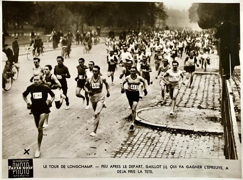 Marathon.. (ANONYME, COURSE À PIEDS).