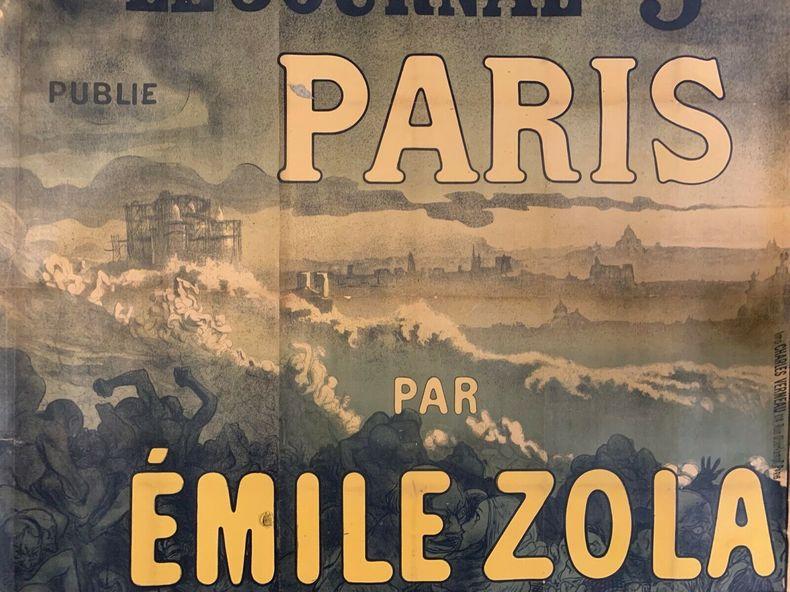 Le Journal publie Paris par Émile Zola, 5 Centimes.. STEINLEN (Théophile Alexandre), ZOLA (Émile).