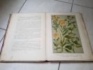 Atlas colorie des plantes usuelles  - 1901. Hoffmann - Perrot