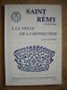 SAINT REMY, le Val de Saône à la veille de la Révolution.. MONNERET Georges