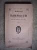 Mémoires de l'Académie Nationale de Metz, Lettres, Sciences, Arts et Agriculture. 2ème période -1 01e année - 4ème série - Ire année - 1914-1920..