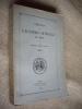 Mémoires de l'Académie Nationale de Metz, Lettres, Sciences, Arts et Agriculture. CVIIIe année - 4ème série - TOME VIII - 1927..
