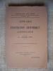 Annuaire de la Fédération historique Lorraine. III - année 1930..