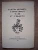 Cahiers alsaciens d'archéologie d'art et d'histoire, 1958.. Collectif