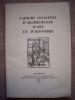 Cahiers alsaciens d'archéologie d'art et d'histoire n° V, 1961.. Collectif