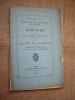 La loi du pardon, étude sur le projet de loi relatif aux condamnations conditionnelles.. BERNARD Charles