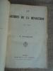 LES GUERRES DE LA REVOLUTION 1792-1815.. BARTHELEMY H.