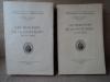 Les Vignerons de la COte dOr au XIXe siècle. (2 tomes). LAURENT Robert.
