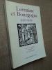 LORRAINE et BOURGOGNE 1473-1478.. SCHNEIDER Jean (choix de documents présentés par).