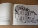 La maison rurale en Franche-Comté. Un recueil commenté de dessins au trait, une étude sommaire de la maison des paysans.. GARNERET Jean