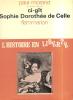 Ci-gît, Sophie Dorothée de Celle.. MORAND Paul