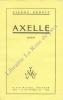 Axelle.. BENOIT Pierre
