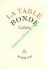 Cahiers de la Table Ronde, Hiver 1973.. LA TABLE RONDE CAHIERS