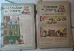 La Semaine de Suzette. de janvier à décembre 1948. 52 numéros en fascicules. La Semaine de Suzette - Collectif