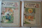 La Semaine de Suzette. de janvier à décembre 1947. 52 numéros en fascicules. La Semaine de Suzette - Collectif