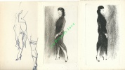 Monelle de Montmartre. Préface de Pierre Mac Orlan.. PICART le DOUX Charles