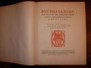 BUCHEINBÄNDE AUS DEM XIV -XIX JAHRHUNDERT IN DES LANDESBIBLIOTHEK ZU DARMSTADT. Ausgewählt und beschrieben von Dr Adolf SCMIDT Director des ...
