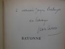 BAYONNE. . CASSOU Jean.
